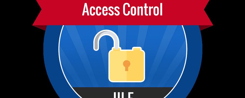 III.F – Access Control