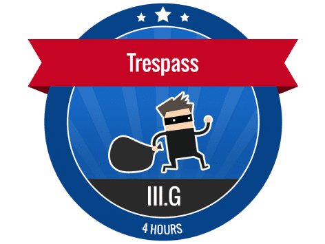 III G - Trespass - Online Security Guard Training