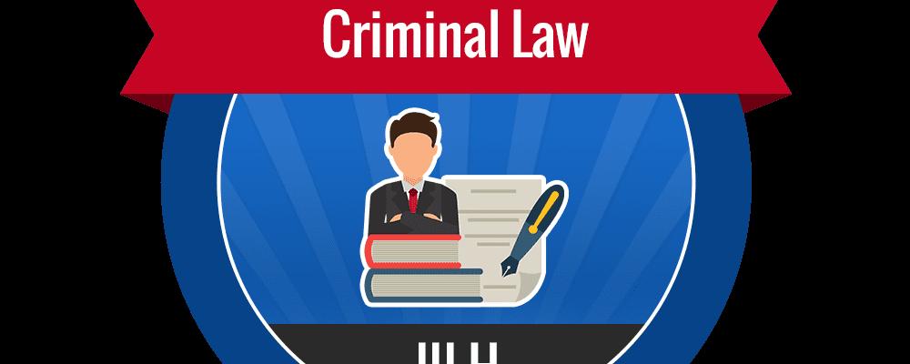 III.H – Criminal Law