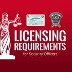 Licensing Requirements For California Guard Card