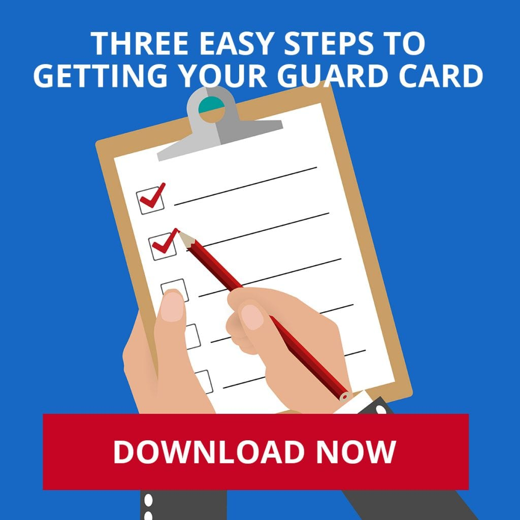3 Easy Steps to Get Your Guard Card