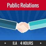 Group logo of II.A - Public Relations (Community & Customer)