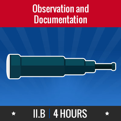 Group logo of II.B – Observation & Documentation