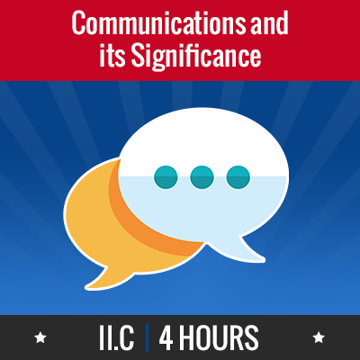 Group logo of II.C – Communications and Its Significance