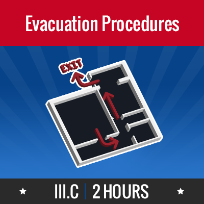 Group logo of III.C – Evacuation Procedures