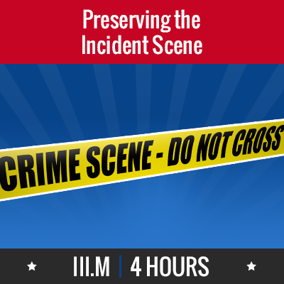Group logo of III.M – Preserving the Incident Scene