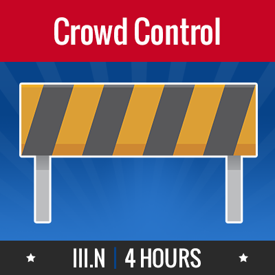 Group logo of III.N – Crowd Control