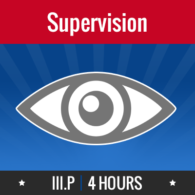Group logo of III.P – Supervision
