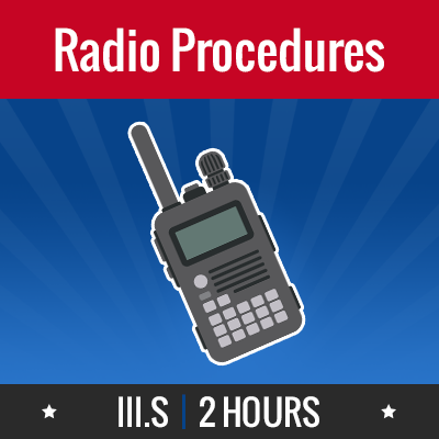 Group logo of III.S – Radio Procedures