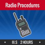 Group logo of III.S – Radio Procedures